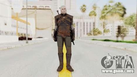 The Witcher 3: Wild Hunt - Geralt of Rivia para GTA San Andreas segunda pantalla