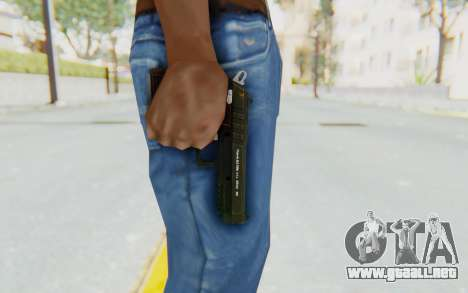 GTA 5 Hawk & Little Pistol para GTA San Andreas