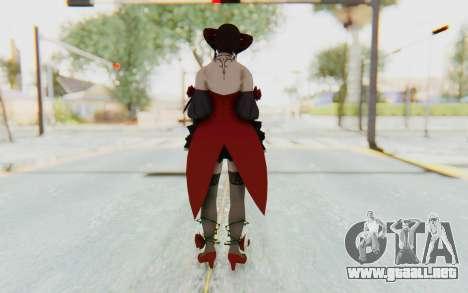 Eliza Skin para GTA San Andreas tercera pantalla