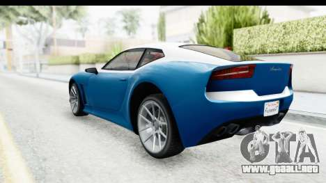 GTA 5 Lampadati Furore GT SA Lights para GTA San Andreas left