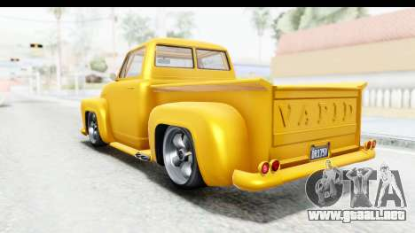 GTA 5 Vapid Slamvan without Hydro para GTA San Andreas left