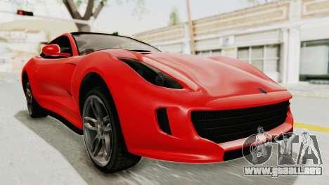 GTA 5 Grotti Bestia GTS v2 IVF para la visión correcta GTA San Andreas