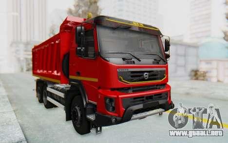Volvo FMX 6x4 Dumper v1.0 para GTA San Andreas