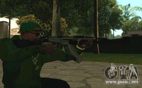 AK-47 Vulcan (SA) para GTA San Andreas sucesivamente de pantalla