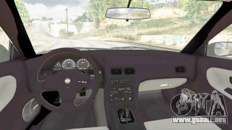 GTA 5 Nissan 180SX Type-X v0.5 vista lateral derecha