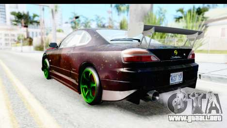 Nissan Silvia S15 Galaxy Drift v2.1 para GTA San Andreas left