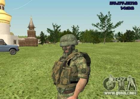 Cuerpo De Infantería De Marina De Combate para GTA San Andreas sucesivamente de pantalla