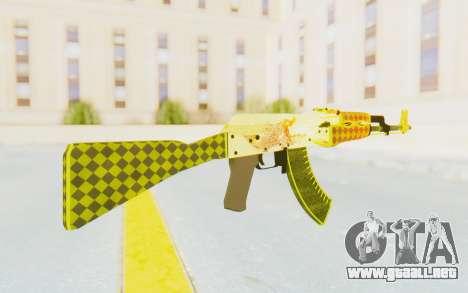 CS:GO - AK-47 Dragon Lore para GTA San Andreas segunda pantalla