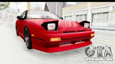 Nissan 240SX 1989 v1 para la visión correcta GTA San Andreas