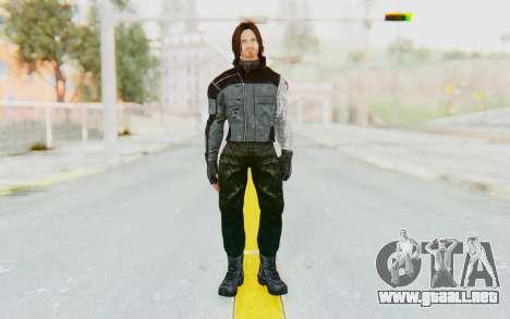 Bucky Barnes (Winter Soldier) v1 para GTA San Andreas segunda pantalla