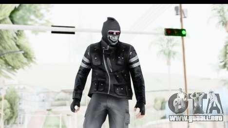 GTA Online Skin (Heists) para GTA San Andreas