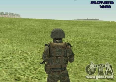 Cuerpo De Infantería De Marina De Combate para GTA San Andreas segunda pantalla