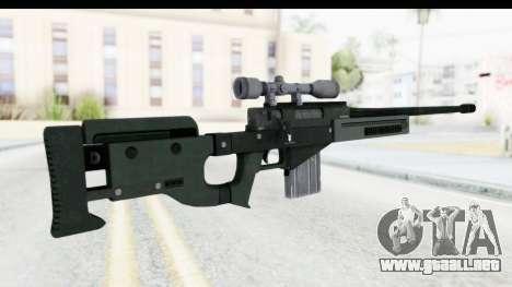 GTA 5 Shrewsbury Sniper Rifle para GTA San Andreas segunda pantalla
