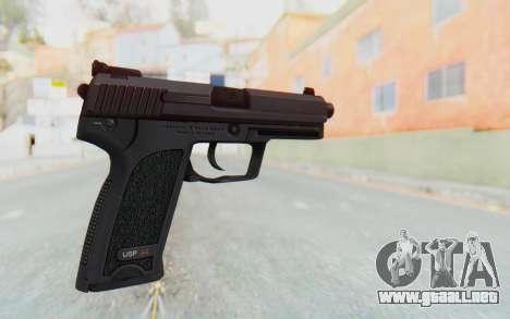 H&K 45 para GTA San Andreas segunda pantalla
