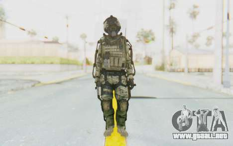 CoD AW US Marine Assault v1 Head A para GTA San Andreas segunda pantalla
