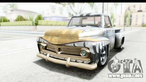 GTA 5 Vapid Slamvan without Hydro para el motor de GTA San Andreas