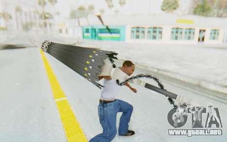 Misteltein Weapon para GTA San Andreas tercera pantalla