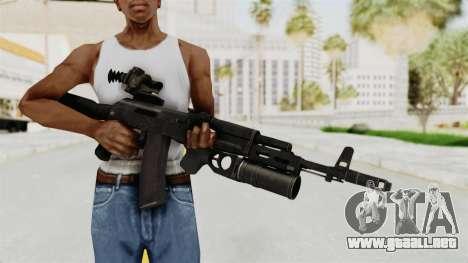 AK-74M v3 para GTA San Andreas tercera pantalla