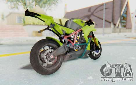 KTM 1190 R Stunter para GTA San Andreas left