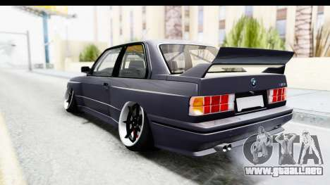 BMW M3 E30 2015 JDM para GTA San Andreas left