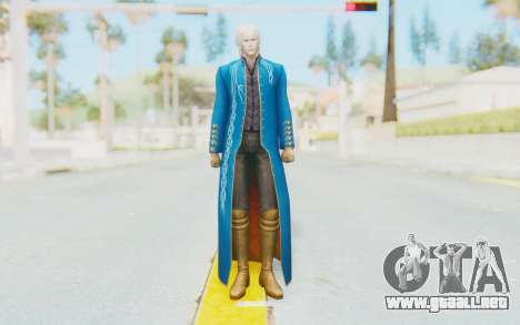 Ultimate Marvel Vs Capcom 3 Vergil para GTA San Andreas segunda pantalla