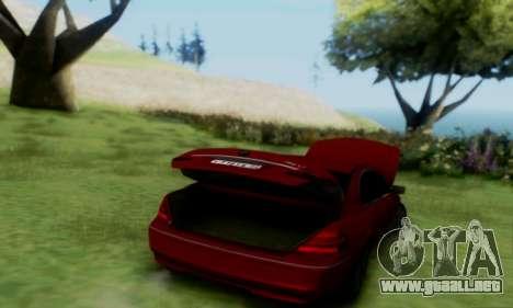 BMW 760i para la visión correcta GTA San Andreas