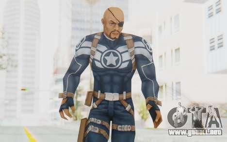 Marvel Future Fight - Nick Fury para GTA San Andreas