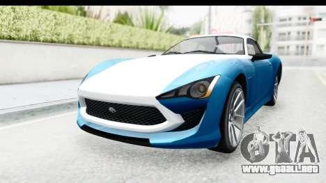 GTA 5 Lampadati Furore GT SA Lights para GTA San Andreas