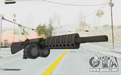 APB Reloaded - NFAS-12 para GTA San Andreas