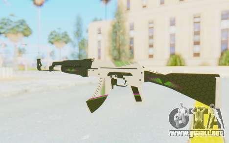 CS:GO - AK-47 Sport para GTA San Andreas segunda pantalla