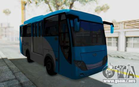 Hino Evo-C Transjakarta Feeder Bus para la visión correcta GTA San Andreas