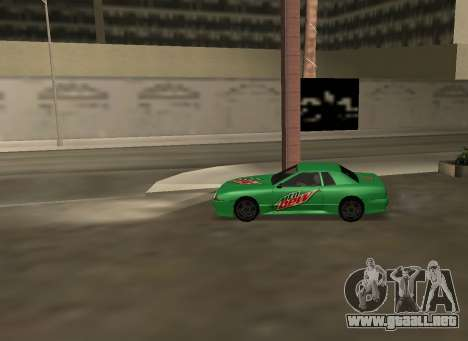 New vinyls for Elegy para la visión correcta GTA San Andreas
