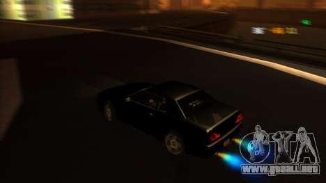 Elegy Bushido para la visión correcta GTA San Andreas