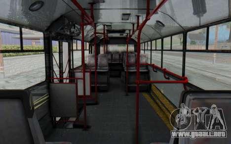 Pylife Bus para visión interna GTA San Andreas