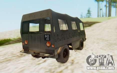 Pinzgauer 710M para GTA San Andreas left