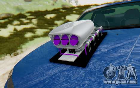 Nissan Silvia S15 Monster Truck para GTA San Andreas vista hacia atrás