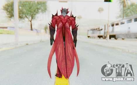 Devil May Cry 4 - Dante Demon para GTA San Andreas tercera pantalla