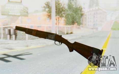 Caravan Shotgun from Fallout New Vegas para GTA San Andreas segunda pantalla