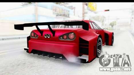 Elegy KraZ Edition Beta 0.8.5 para GTA San Andreas vista posterior izquierda