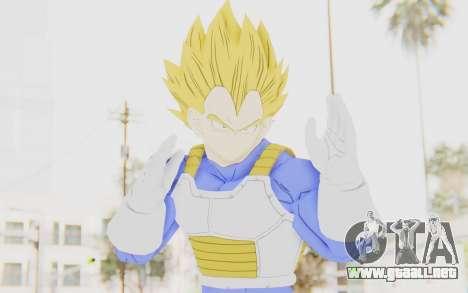 Dragon Ball Xenoverse Vegeta Android Saga SSJ para GTA San Andreas