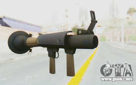 Rocket Launcher from TF2 para GTA San Andreas
