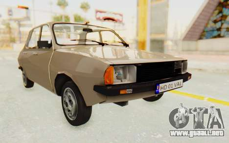 Dacia 1310 TLX para la visión correcta GTA San Andreas