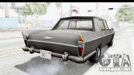 Simca Vedette from Bully para GTA San Andreas vista posterior izquierda