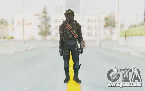 Federation Elite Shotgun Tactical para GTA San Andreas segunda pantalla