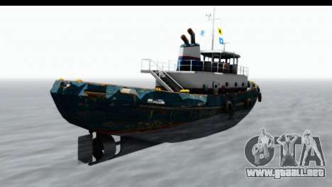 GTA 5 Buckingham Tug Boat v1 IVF para GTA San Andreas left