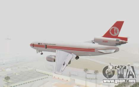 DC-10-30 Malaysia Airlines (Retro Livery) para GTA San Andreas left