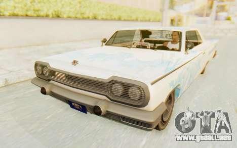 GTA 5 Declasse Voodoo Alternative v1 para el motor de GTA San Andreas