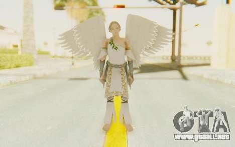 Angel Skin para GTA San Andreas segunda pantalla