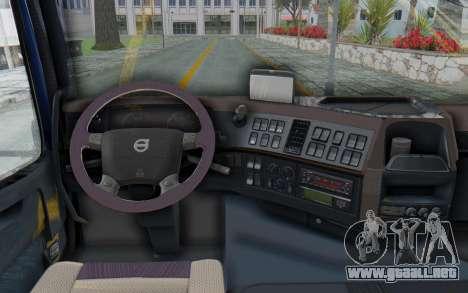 Volvo FMX 6x4 Dumper v1.0 Color para GTA San Andreas vista hacia atrás
