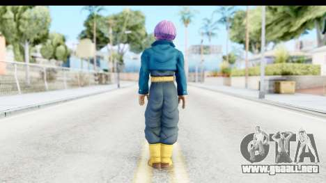 Dragon Ball Xenoverse Future Trunks SJ para GTA San Andreas tercera pantalla